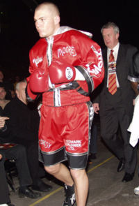Jamie Moore boxer