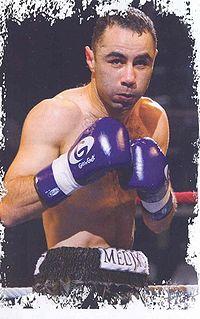Salim Medjkoune boxer