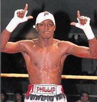 Phillip Ndou boxer