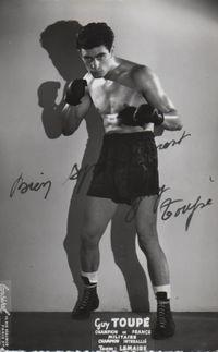 Guy Toupe boxer
