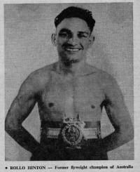 Rollo Ronnie Hinton boxer