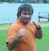 Walter Javier Crucce boxer