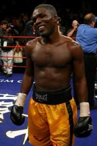 Ben Tackie boxer