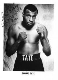 Thomas Tate boxer