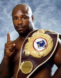 Tyrone Booze boxer