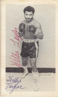 Willie Taylor boxer