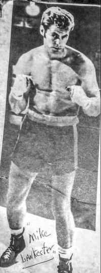 Mike Lankester boxer