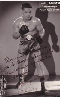 Andre Valignat boxer