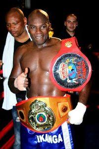 Tony Kikanga boxer