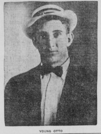 Young Otto boxer