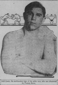 Jack Lester boxer