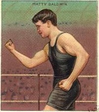 Matty Baldwin boxer