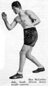 Don McCorkindale boxer