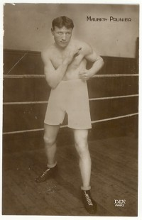 Maurice Prunier boxer
