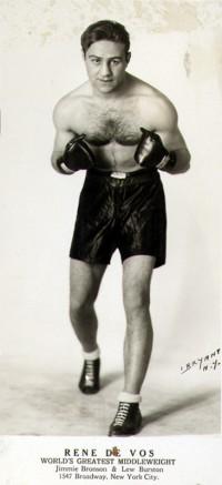 Rene De Vos boxer