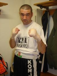 Laszlo Komjathi boxer