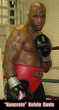 Kelvin Davis boxer
