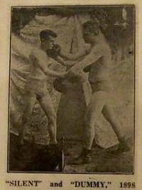 Mike 'Dummy' Rowan boxer