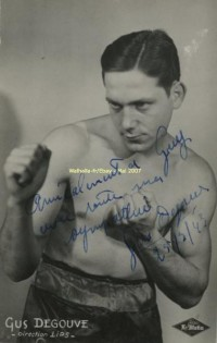 Gustave Degouve boxer