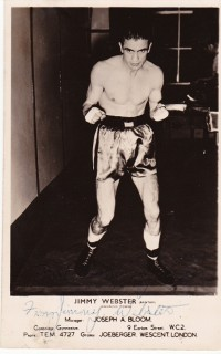 Jimmy Webster boxer
