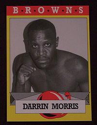 Darrin Morris boxer