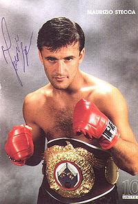 Maurizio Stecca boxer