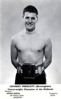 Johnny Prescott boxer