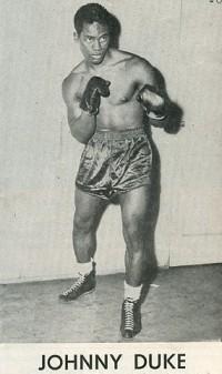 Johnny Duke boxer