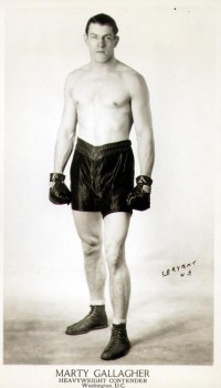 Marty Gallagher boxer