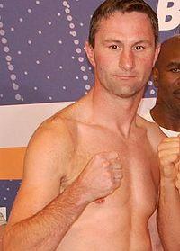 Steven Bendall boxer