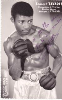 Leonard Tavarez boxer