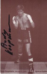 Rudy Koopmans boxer
