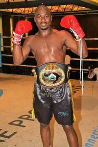 Willbeforce Shihepo boxer