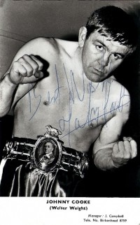 Johnny Cooke boxer