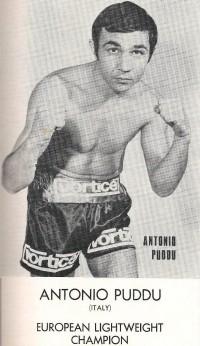 Antonio Puddu boxer