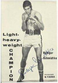 Rudiger Schmidtke boxer