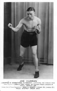 Joe Curran boxer