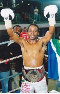 Khulile Makeba boxer