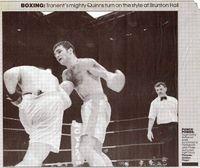 Hugh Collins boxer