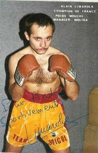 Alain Limarola boxer