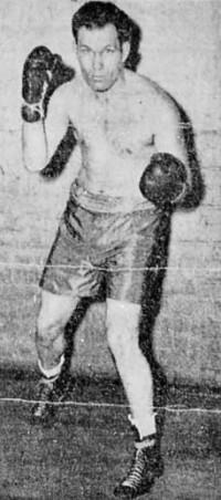 Sonny Orrock boxer