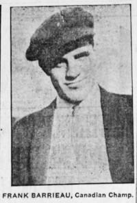 Frank Barrieau boxer