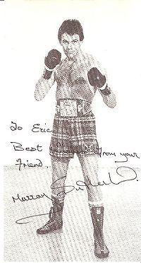 Murray Sutherland boxer