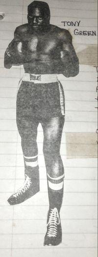 Tony Greene boxer