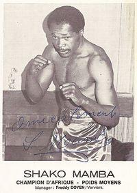 Shako Mamba boxer