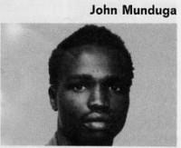 John Munduga boxer