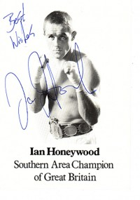 Ian Honeywood boxer