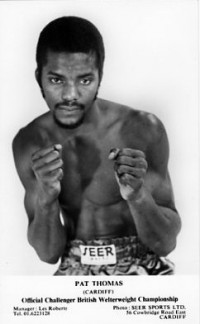 Pat Thomas boxer