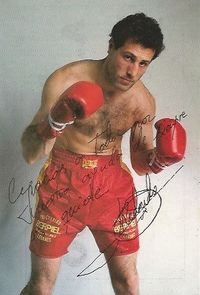 Alfonso Redondo boxer