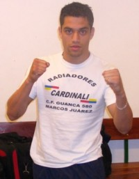 Fernando Ezequiel Pereyra boxer